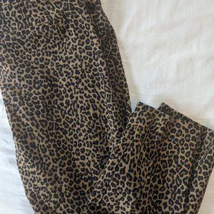 Old Navy Pixie Pants Leopard Print